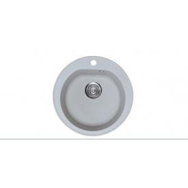 Кухонна мийка METALAC X GRANIT OMEGA Siva Сірий