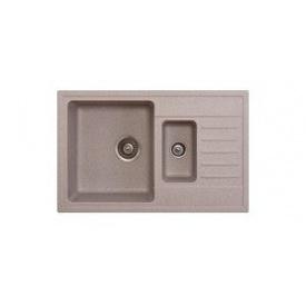 Кухонная мойка METALAC X GRANIT QUADRO PLUS 1.5 D Бежевая