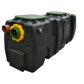 Коалисцентный сепаратор нафтопродуктів з відстійником і байпасом OIL SB
