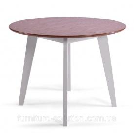 """Деревянный стол """"Марс 2"""" d=100+40"""