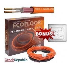 Теплый пол электрический кабельный Fenix 14,5 м 1,4-2 м2 260 Вт