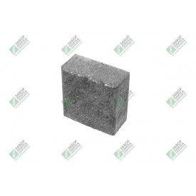 Полублок облицювальний колотий без фаски 390х190х188 мм сірий