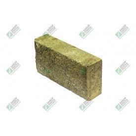 Блок облицювальний колотий без фаски 390х90х188 мм жовтий