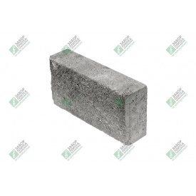 Блок облицювальний колотий без фаски 390х90х188 мм сірий