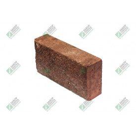 Блок облицювальний колотий без фаски 390х90х188 мм червоний