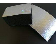 Каучукова ізоляція самоклейка з покриттям Алюхолст 6 мм для зовнішнього застосування
