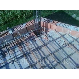 Пристрій бетонного осердя в кладці