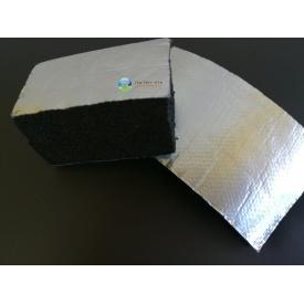 Каучуковая изоляция самоклейка с покрытием Алюхолст 6 мм для наружного применения
