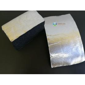 Каучуковая изоляция самоклейка с покрытием Алюхолст 16мм для наружного применения