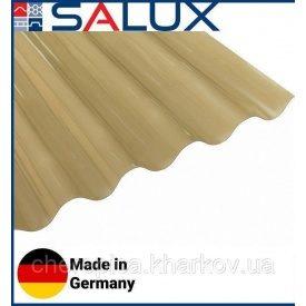 Прозрачный ПВХ лист Salux WHR 76/18 Бронзовая Волна 1,8х0,9