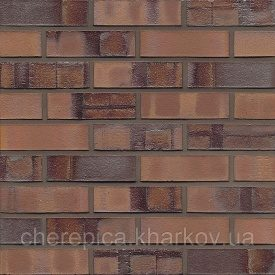 Клинкерный кирпич MUHR 13 Красно-коричневый особенный