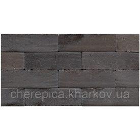 Клінкерна бруківка MUHR 15 Чорний строкатий глянсовий
