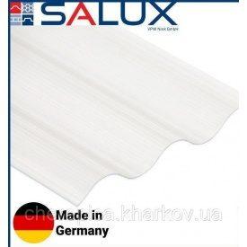 Прозрачный ПВХ лист Salux Strong Прозрачный 2,0х0,9