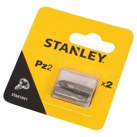 Биты Pz2, 25мм, 2шт. STA61041 Stanley