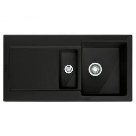 Мийка кераміка Fraceram MRK 651-100 чорний матовий Franke (124.0380.341)
