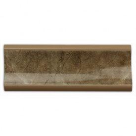 Бортик узкий Thermoplast 500 Аликанте коричневое (акс.500)