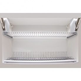 Сушка с рамой для посуды (комплект) 800мм VIBO (ESV80VPRRCP)
