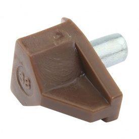 Полкодержатель Safety D=5мм, коричневый (25091) Hettich