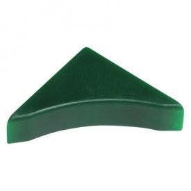 Бортик узкий Thermoplast заглушка мрамор зеленый 145