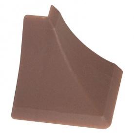 Бортик узкий Thermoplast наружный угол магма 596