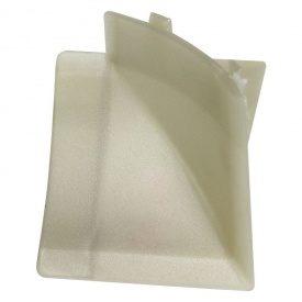 Бортик узкий Thermoplast внутренний угол серебро блеск 820