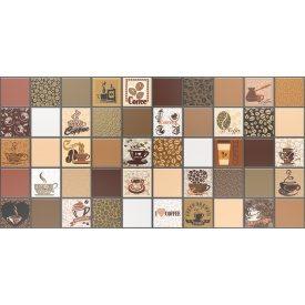 Панель ПВХ Регул Кофе с мололоком коричневый 0,4х480х954 мм