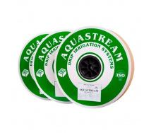 Крапельна стрічка AquaStream крапельниці через 20 см, витрата 1 л/год, довжина 2000 м (D16-05-200-1-2000)