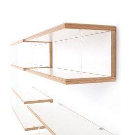 Фанера ФСФ ОДЕК для мебели гладкая/гладкая глянцевая 9,5x1250x2500 мм белая