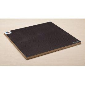 Фанера ОДЕК 15 сет/гл темно-коричневая ФСФ 2500x1250x15 мм сетка ламинированная водостойкая вишневая сетка/гладкая plywood Mesh F/W DB Dark Brown