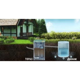Станція очищення стічних вод TOPAS Класик 8