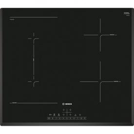 Индукционная варочная поверхность черная PVS651FB5E Bosch
