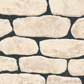 Облицовочный камень ПАЛЕРМО 400x130x20 мм в упаковке 1 м2 Ваниль
