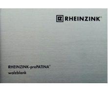 Титан-цинк Rheinzink Walzblank классический вальцованный лист 0,8х1000х2000 мм