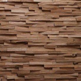 Дерев'яна 3D панель на стіну Дуб