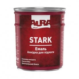 Эмаль алкидная для полов ПФ-266 Aura STARK желто-коричневая 2,8 кг