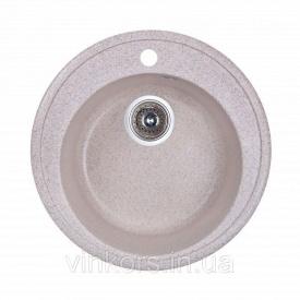 Мойка Fosto D510 SGA-300 песок (14010)