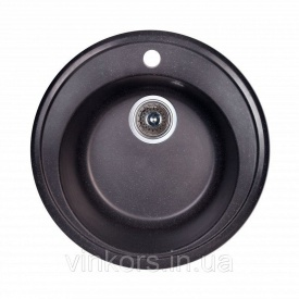 Мойка Fosto D510 SGA-420 черный (14018)