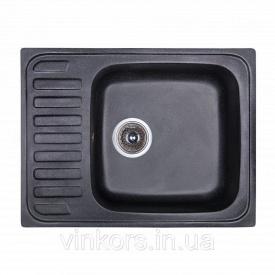 Мойка Fosto 64x49 SGA-420 черный (14023)