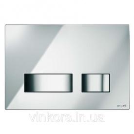 Кнопка смыва Cersanit Movi хром S97-026 (021638) для инсталляционных модулей Cersanit Hi-tec и Link