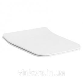 Сиденье с крышкой для унитаза VOLLE LEON, LIBRA Slim slow-closing (13-11-162)