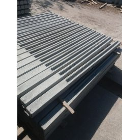 Столб заборный бетонный 270х12х13 см