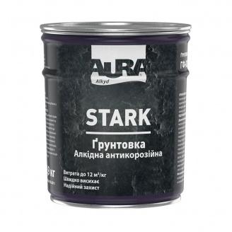 Грунтовка алкідна антикорозійна Aura STARK біла матова 0,9 кг