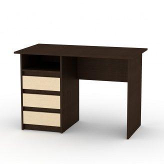 Письменный стол Компанит Декан 736х1100х600 мм ЛДСП венге