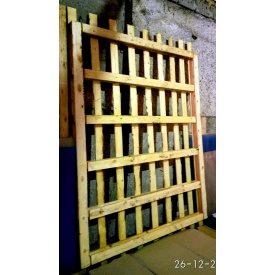 Поддон деревянный 2100х3100 мм серый