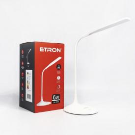 Лампа настільна світлодіодна ETRON Desk Lamp delta 6W 4200K White
