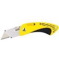Нож-трапеция раскладной обрезиненный корпус Sigma (8212081)