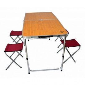 Розкладний стіл для пікніка зі стільцями Bonro модель D