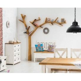 Полка-дерево Signal Poprad Коричневый медовый