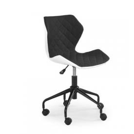 Кресло Halmar Matrix Белый Черный