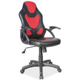 Офісне крісло Signal Q-100 Чорно-червоний